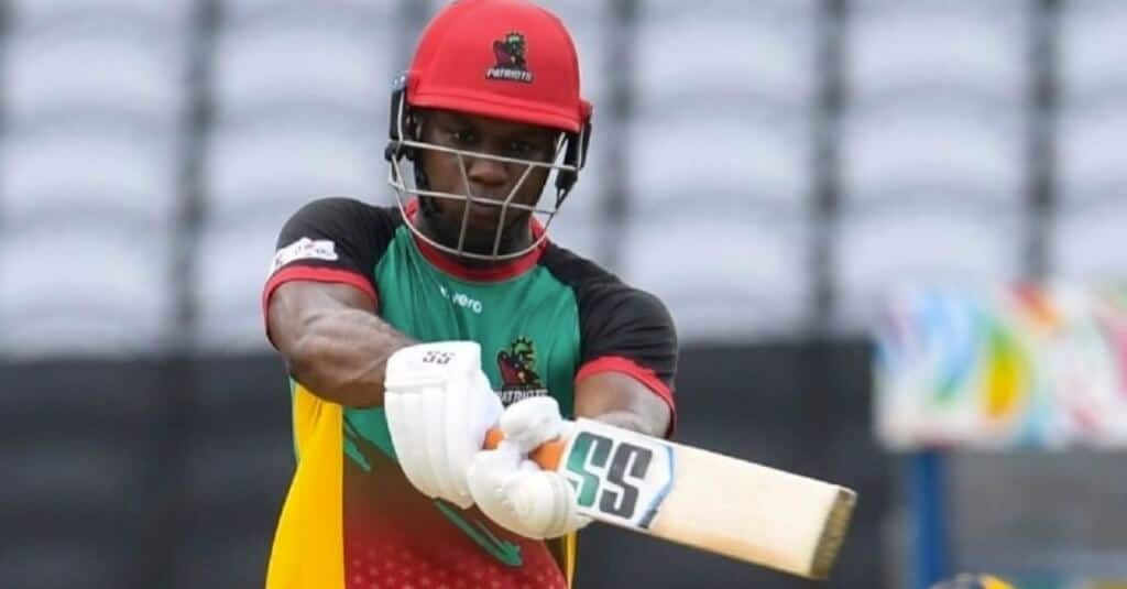Evin Lewis St Kitts and Nevis Patriots