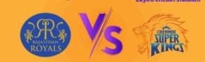 Chennai Super Kings v Rajasthan Royals Betting Tips & Predictions