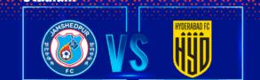 Jamshedpur FC vs Hyderabad FC Betting Tips & Predictions