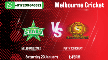 Melbourne Stars v Perth Scorchers Heat Betting Tips & Predictions January 23rd 2021