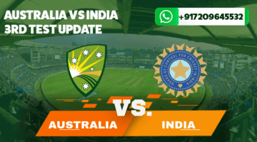Australia v India Test Series News