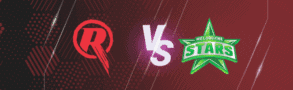 Melbourne Renegades v Melbourne Stars Betting Tips & Predictions