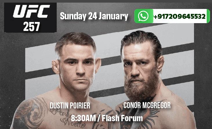 UFC 257: Poirier vs McGregor Betting Tips & Predictions