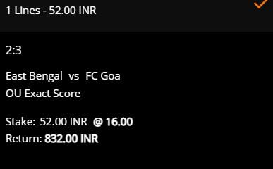 Tip Taruhan SC East Bengal vs FC Goa