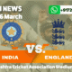 England beat India by 6 wickets in the Second ODI to level Series 1-1.