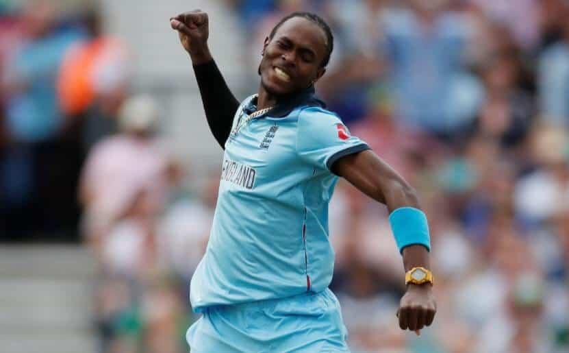 Jofra Archer playing for England. He's going to be a big part of England winning the second t20i against India India vs England Second T20I Betting Tips & Predictions