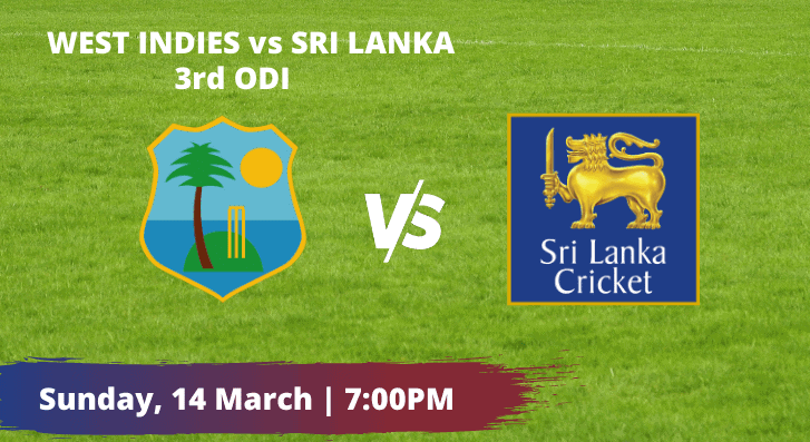 West Indies vs Sri Lanka 3rd ODI Betting Tips & Predictions