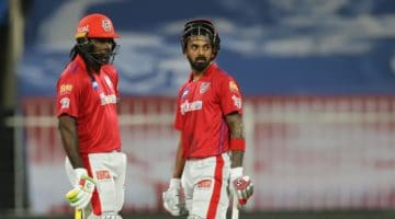 KL Rahul and Chris Gayle guide PBKS to a 34-Run win over RCB in the IPL 2021.