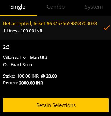 Manchester United v Villarreal Betting Tips & Predictions