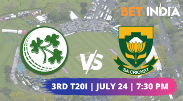 Ireland vs South Africa Third T20I Betting Tips & Predictions