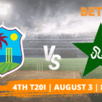 West Indies vs Pakistan: 4th T20I Betting Tips & Predictions