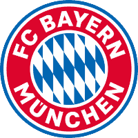 Bayern Munich logo to represent the team's chance to win the Champions League 2021/22