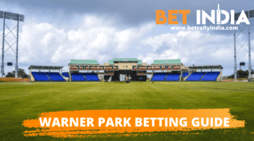 Guide for betting at cricket games played in Warner Park in St Kitts and Nevis